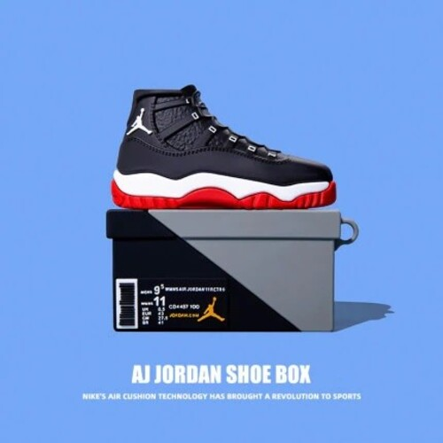 JORDAN – Θήκη Silocone – AirPods 1/2 Box