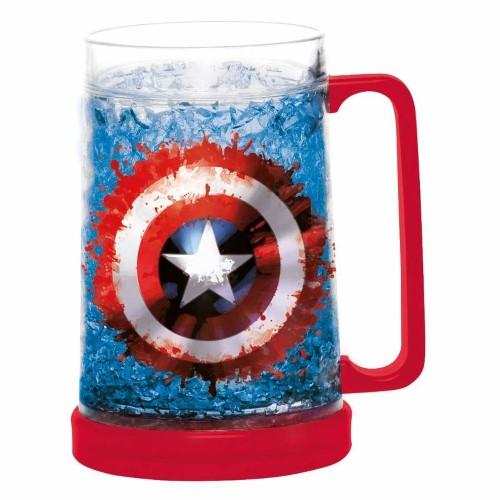 MARVEL – Ice Freezer Mug – Captain America