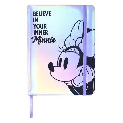 DISNEY – Σημειωματάριο – Minnie Silver A5
