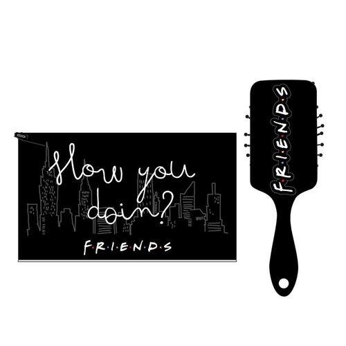 FRIENDS – Brush kit – Χτένα Τσαντάκι
