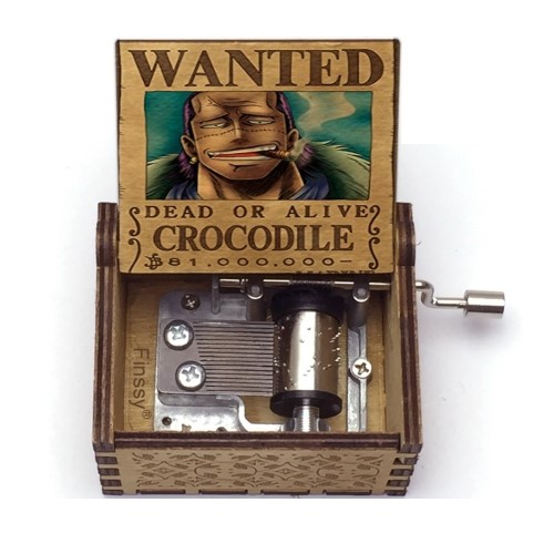 ONE PIECE  – Μουσικό Κουτί – Wanted Crocodile