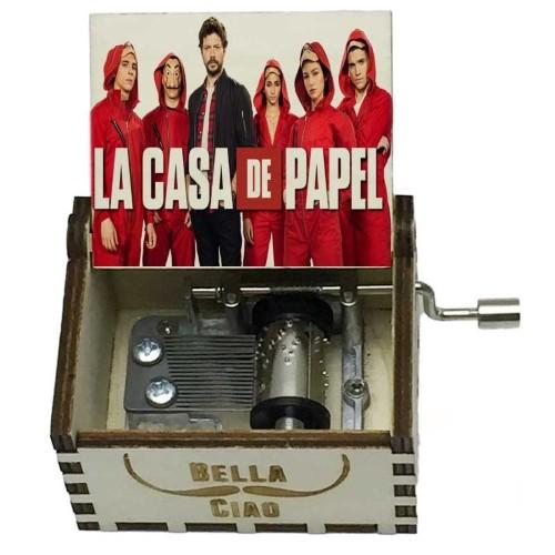 LA CASA DE PAPEL – Μουσικό Κουτί – Characters
