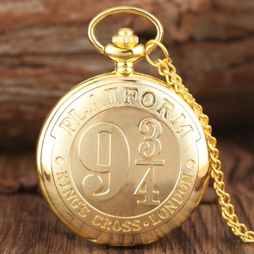 HARRY POTTER – Ρολόι Τσέπης – 9 3/4 Gold