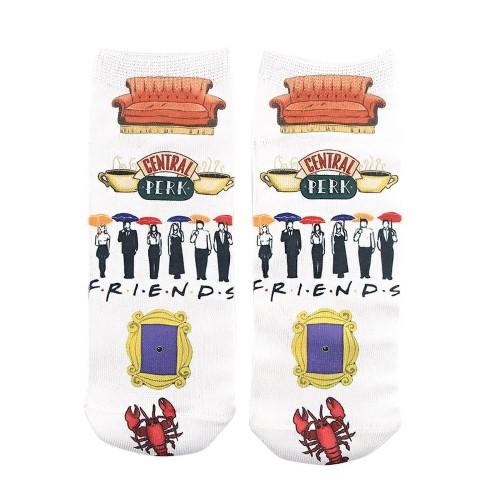 FRIENDS – Κάλτσες – Logo White