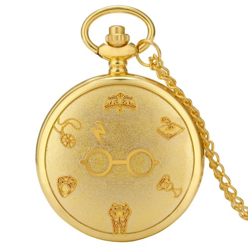 HARRY POTTER – Ρολόι Τσέπης – Logo Gold