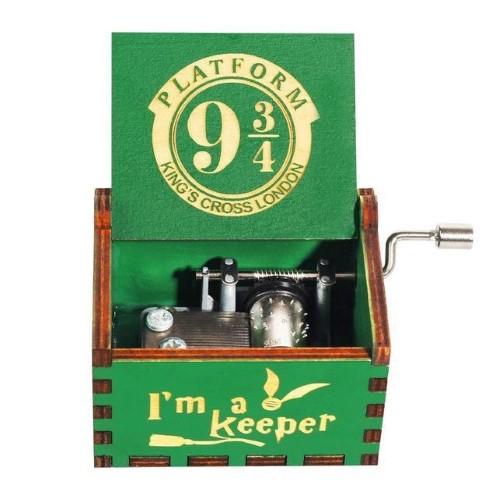 HARRY POTTER – Μουσικό Κουτί – 9 3/4 Green