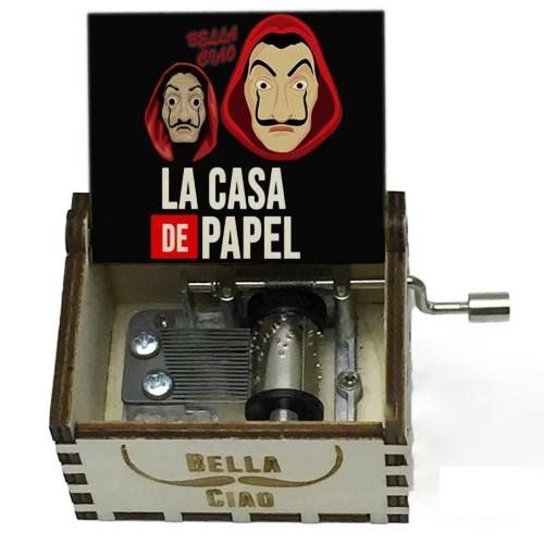 LA CASA DE PAPEL – Μουσικό Κουτί – Logo