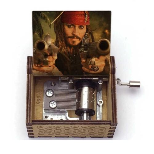 PIRATES OF THE CARRIBEAN – Μουσικό Κουτί – Jack Sparrow