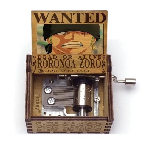ONE PIECE  – Μουσικό Κουτί – Wanted Zoro