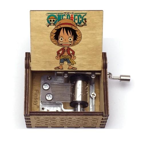 ONE PIECE  – Μουσικό Κουτί – Logo Luffy