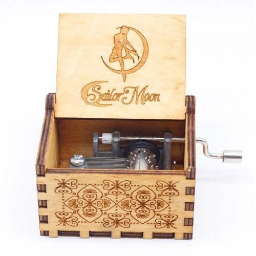 SAILOR MOON – Μουσικό Κουτί – Logo